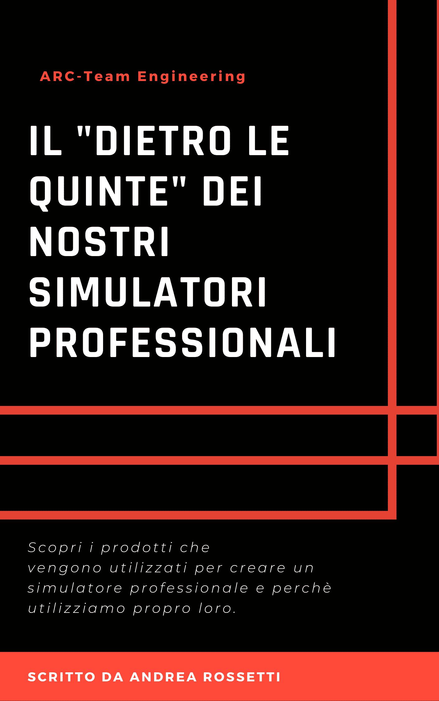 copertina brochure simulatori professionali